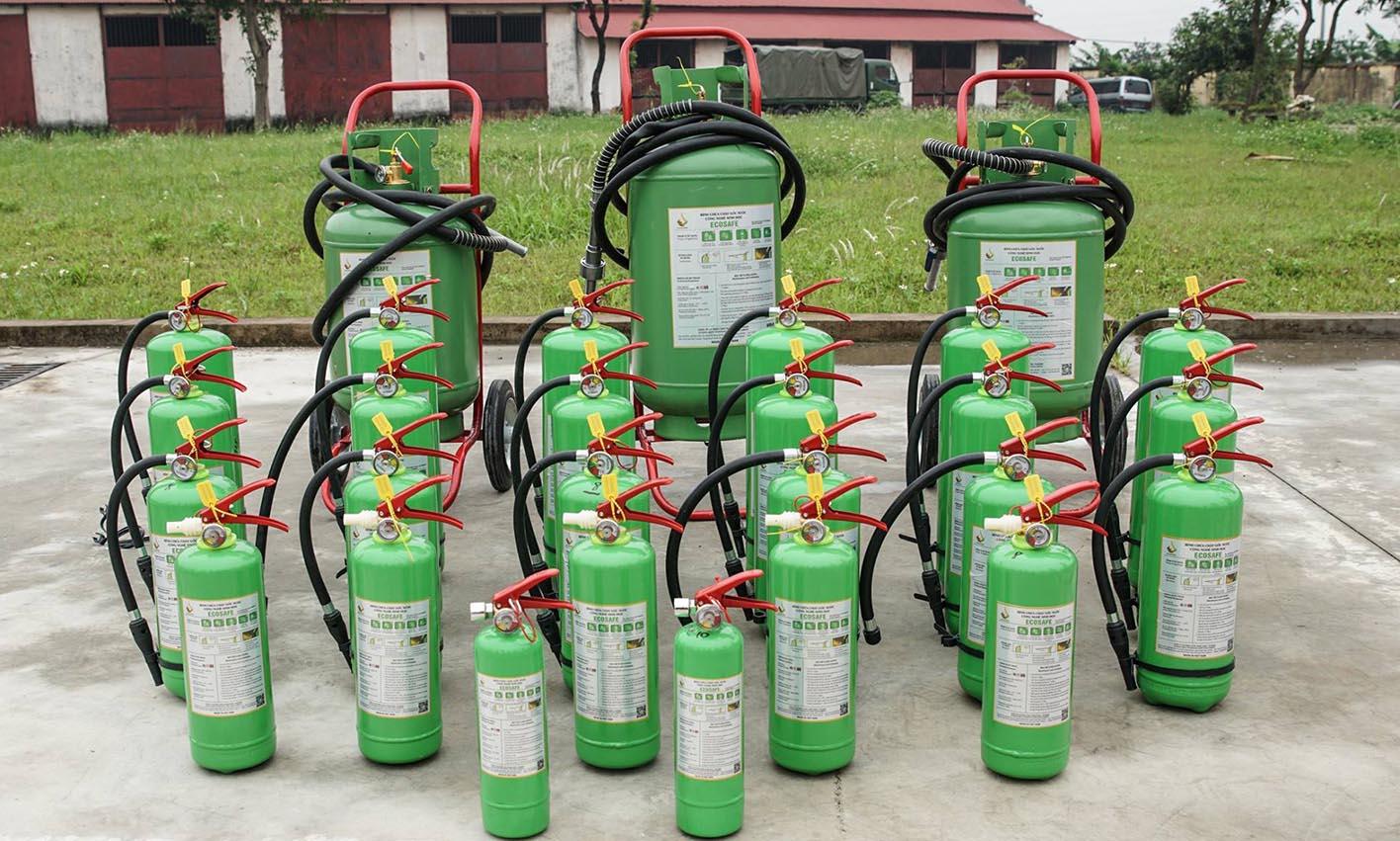 Bình chữa cháy Ecosafe: Bình Gốc Nước Thân Thiện Môi Trường
