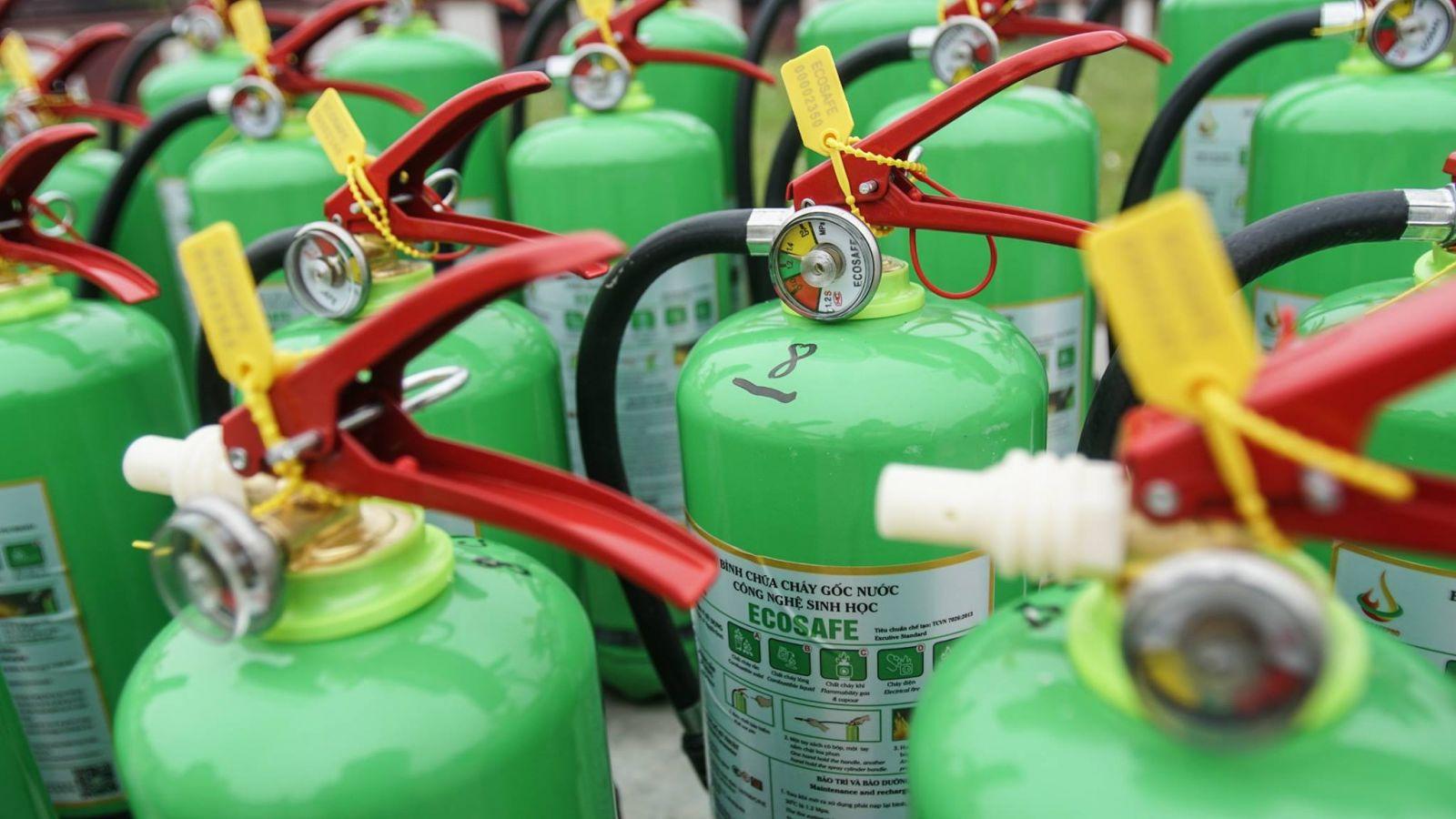 bảng báo giá các loại bình chữa cháy Việt Nam sản xuất