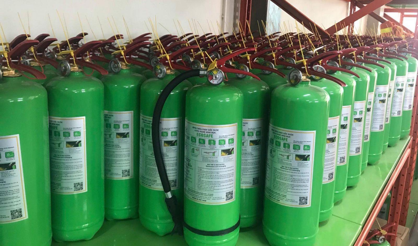 bình chữa cháy Việt Nam gốc nước công nghệ sinh học Ecosafe