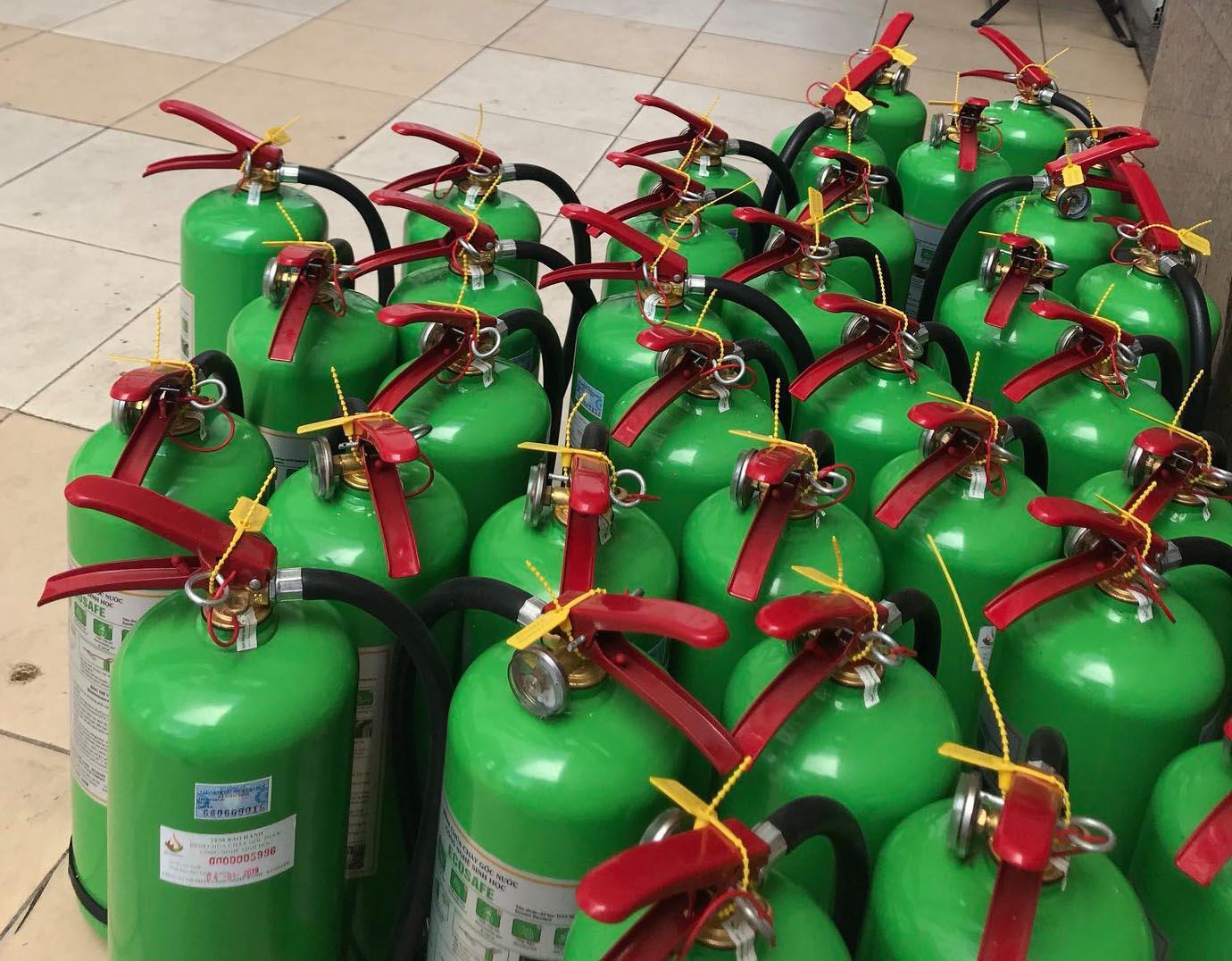 bình cứu hỏa sản xuất tại Việt Nam