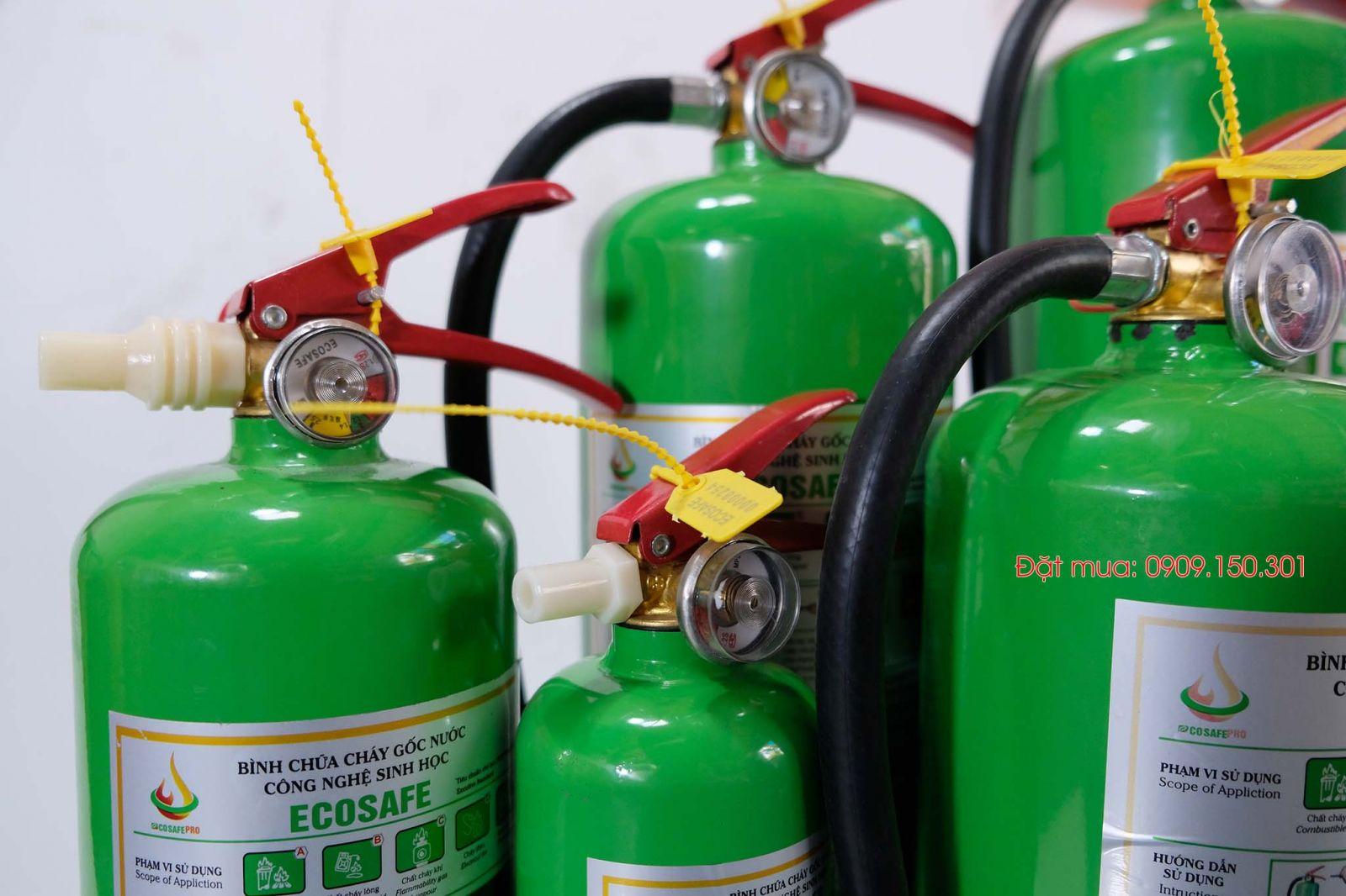 bình chữa cháy gốc nước ecosafe