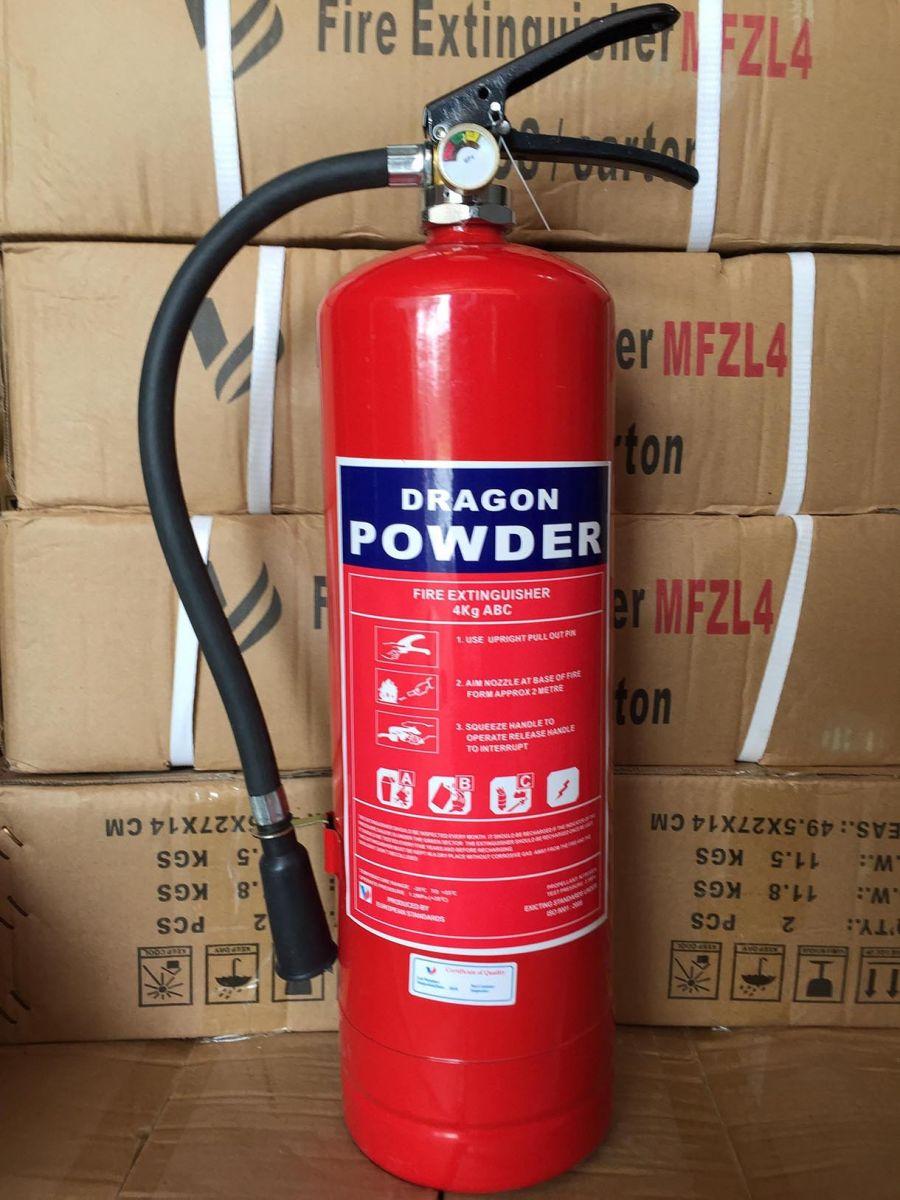 Bình chữa cháy 4KG ABC bột khô Dragon