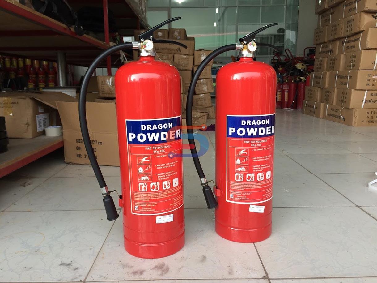 Bình chữa cháy 8KG bột khô ABC Dragon Việt Nam