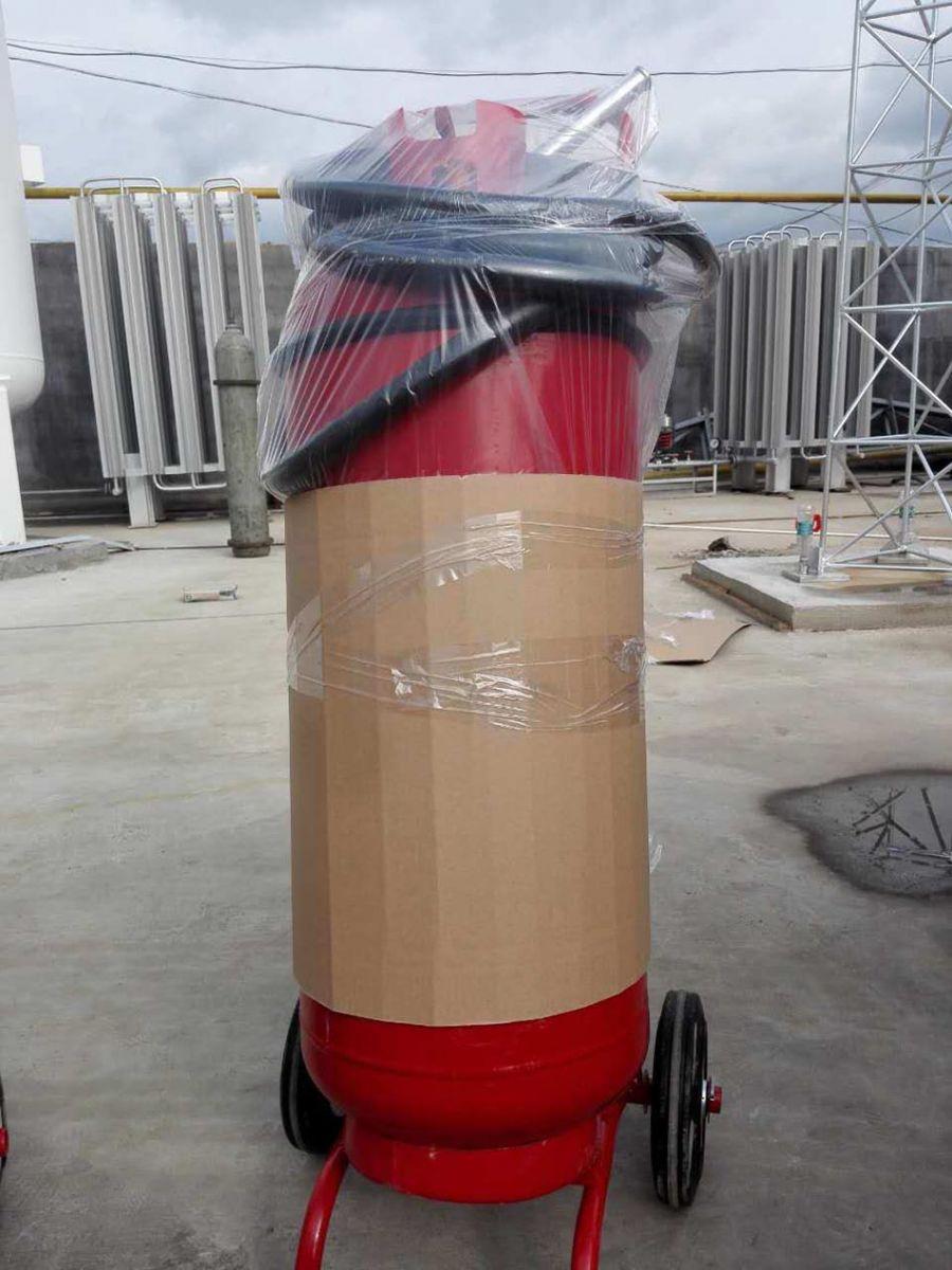 Bình chữa cháy bọt foam dạng xe  đẩy