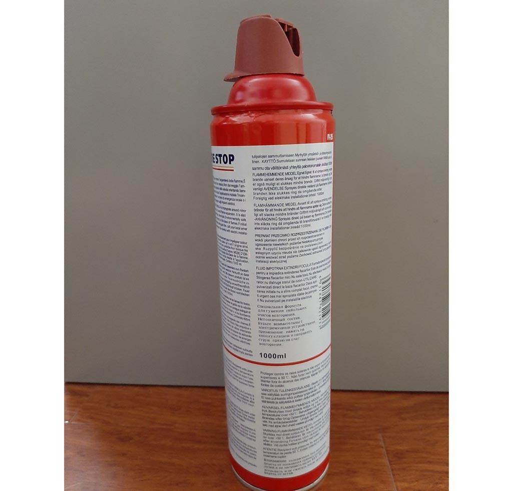 bình chữa cháy foam mini 1000ml fire stop
