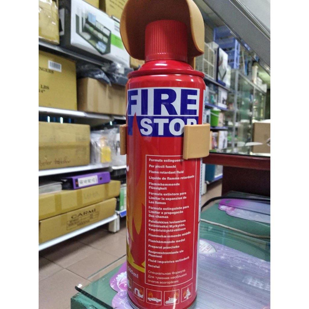 bình chữa cháy foam mini 500ml fire stop