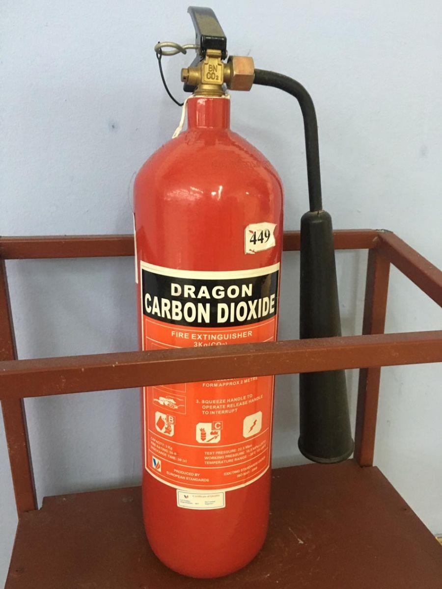 Bình chữa cháy khí lạnh CO2 3KG Dragon Việt Nam