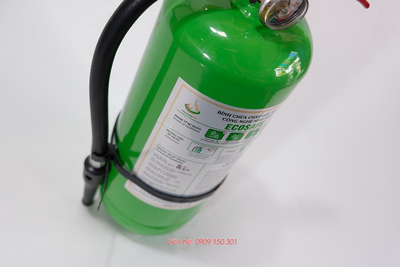 Bình chữa cháy gốc nước ES3 3 lít Ecosafe Việt Nam