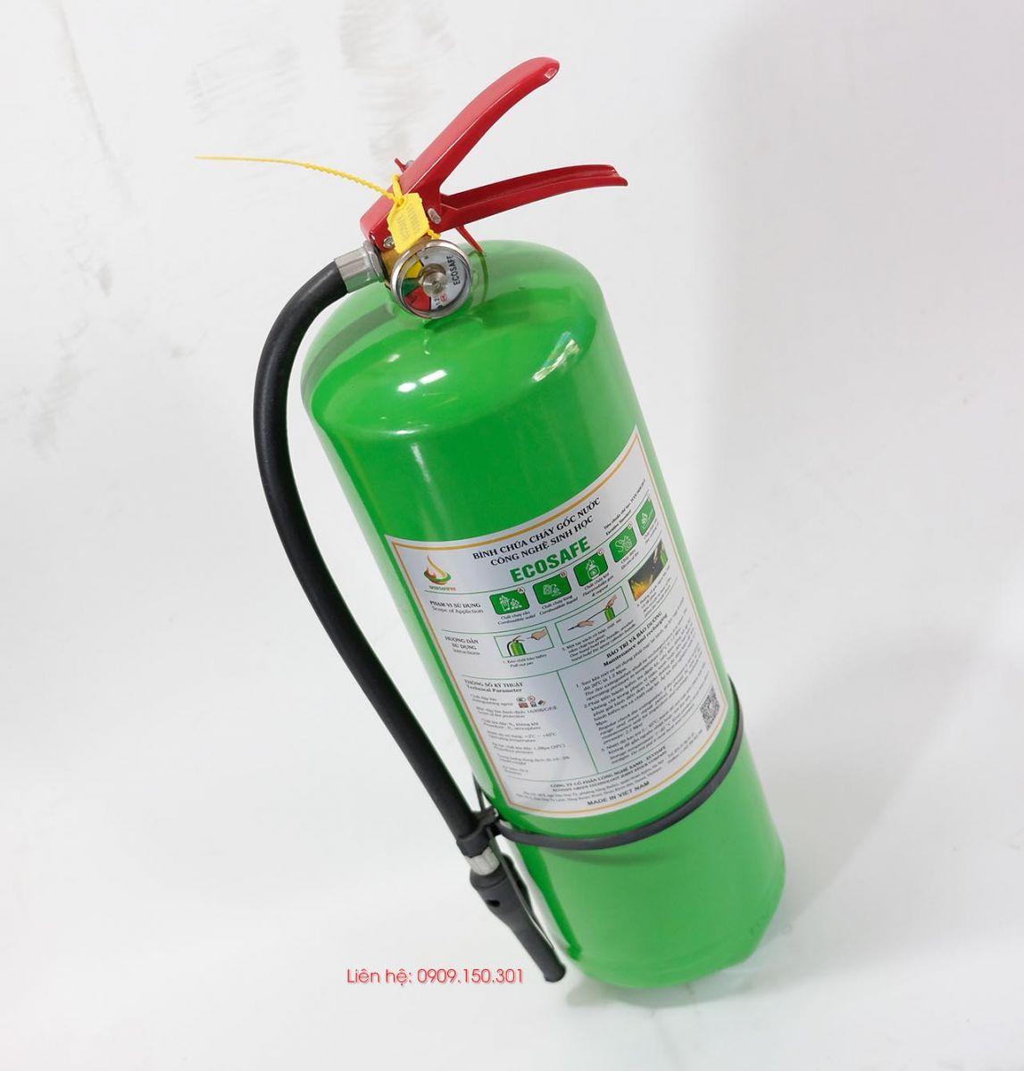 Bình chữa cháy gốc nước ES6 6 lít Ecosafe Việt Nam