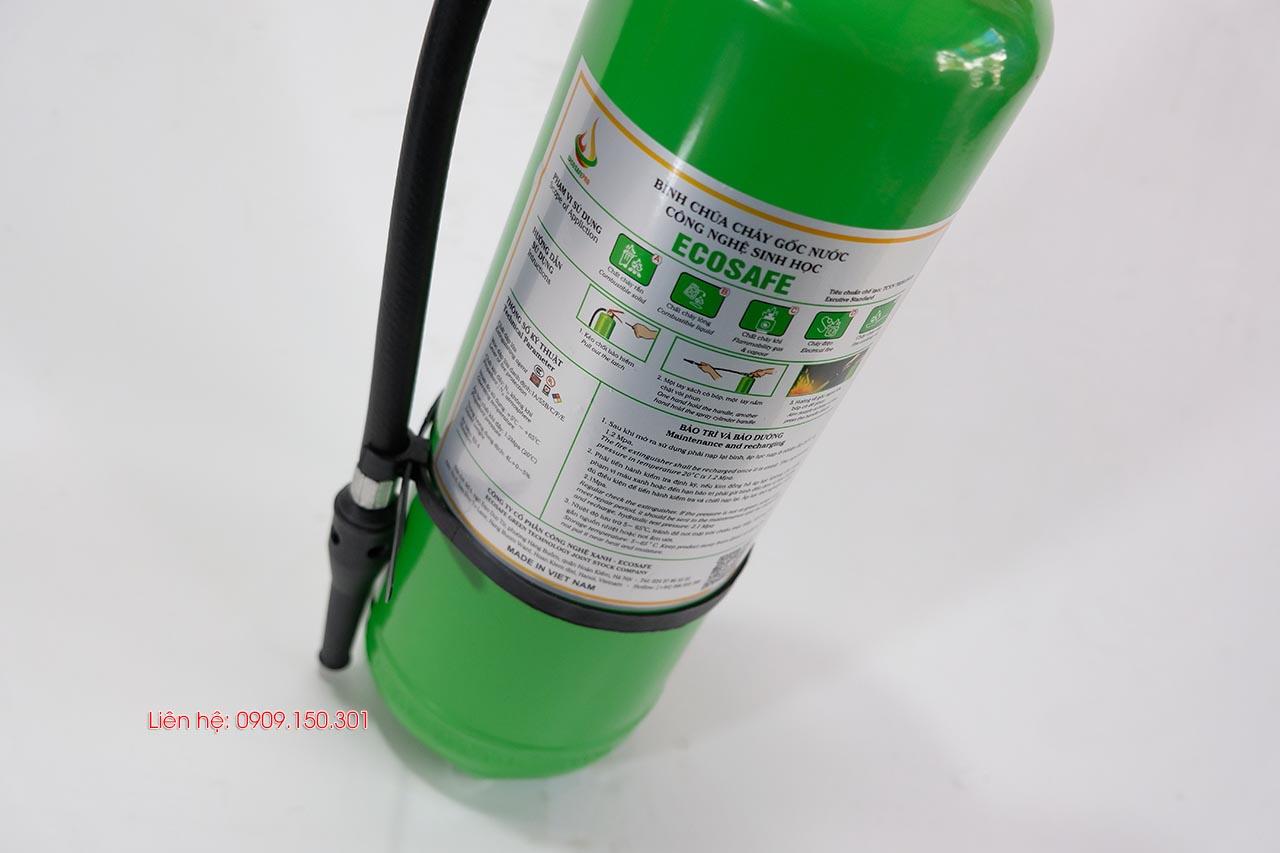 bình chữa cháy gốc nước Việt Nam ES4 Ecosafe 4 lít