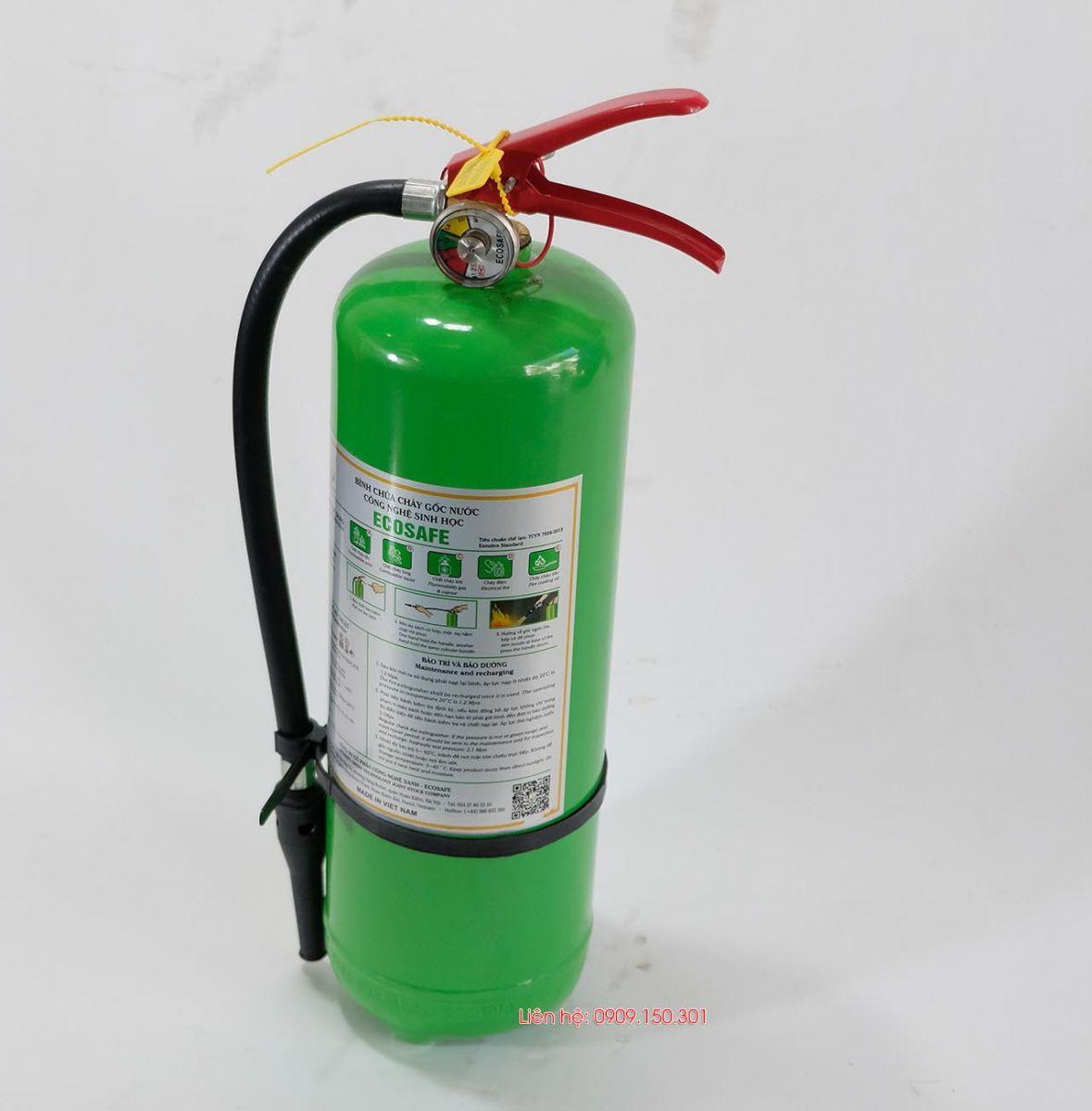 Bình chữa cháy gốc nước 4 lít ES4 Ecosafe Việt Nam