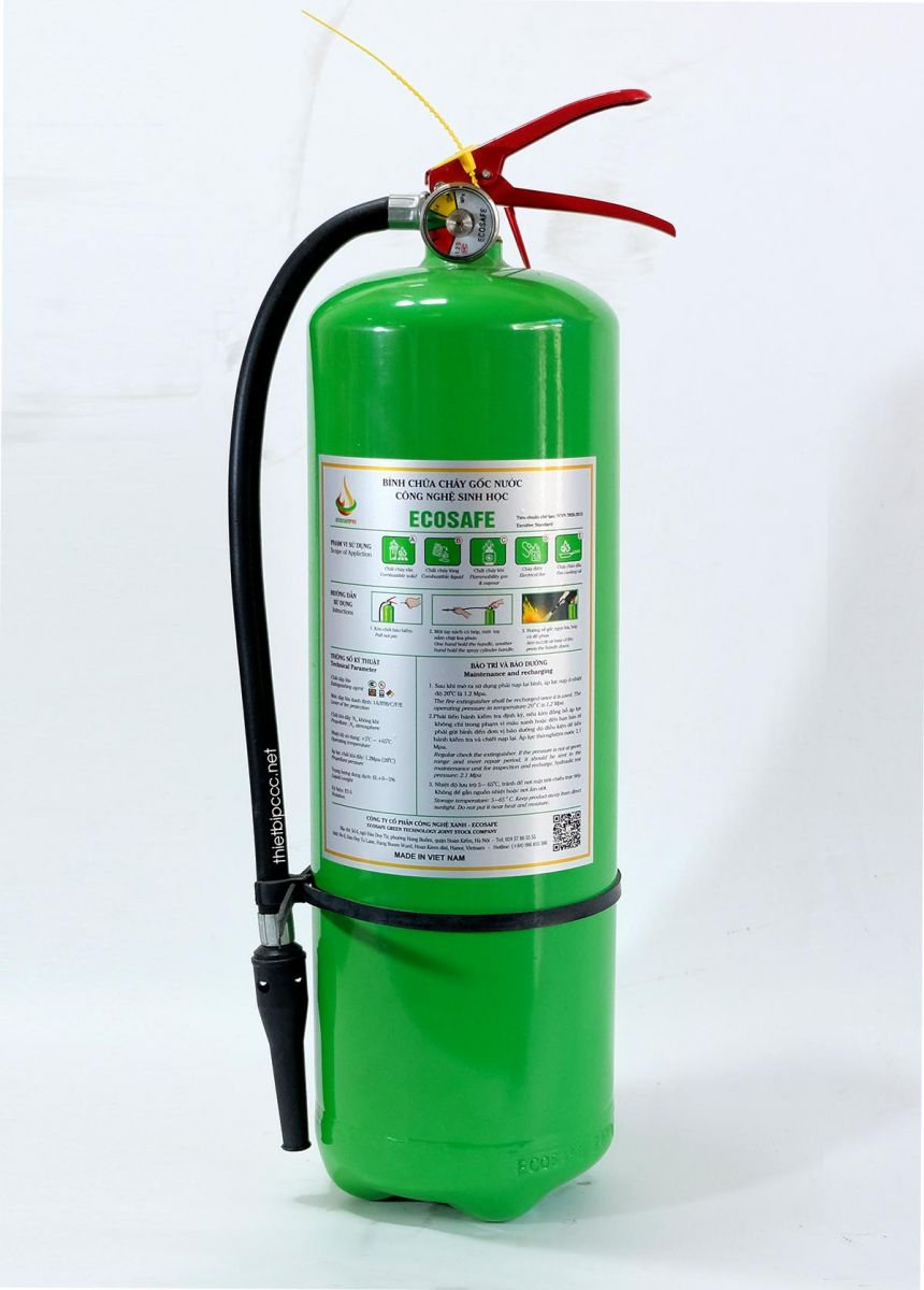 Bình chữa cháy hiệu quả với đám cháy do dầu mỡ