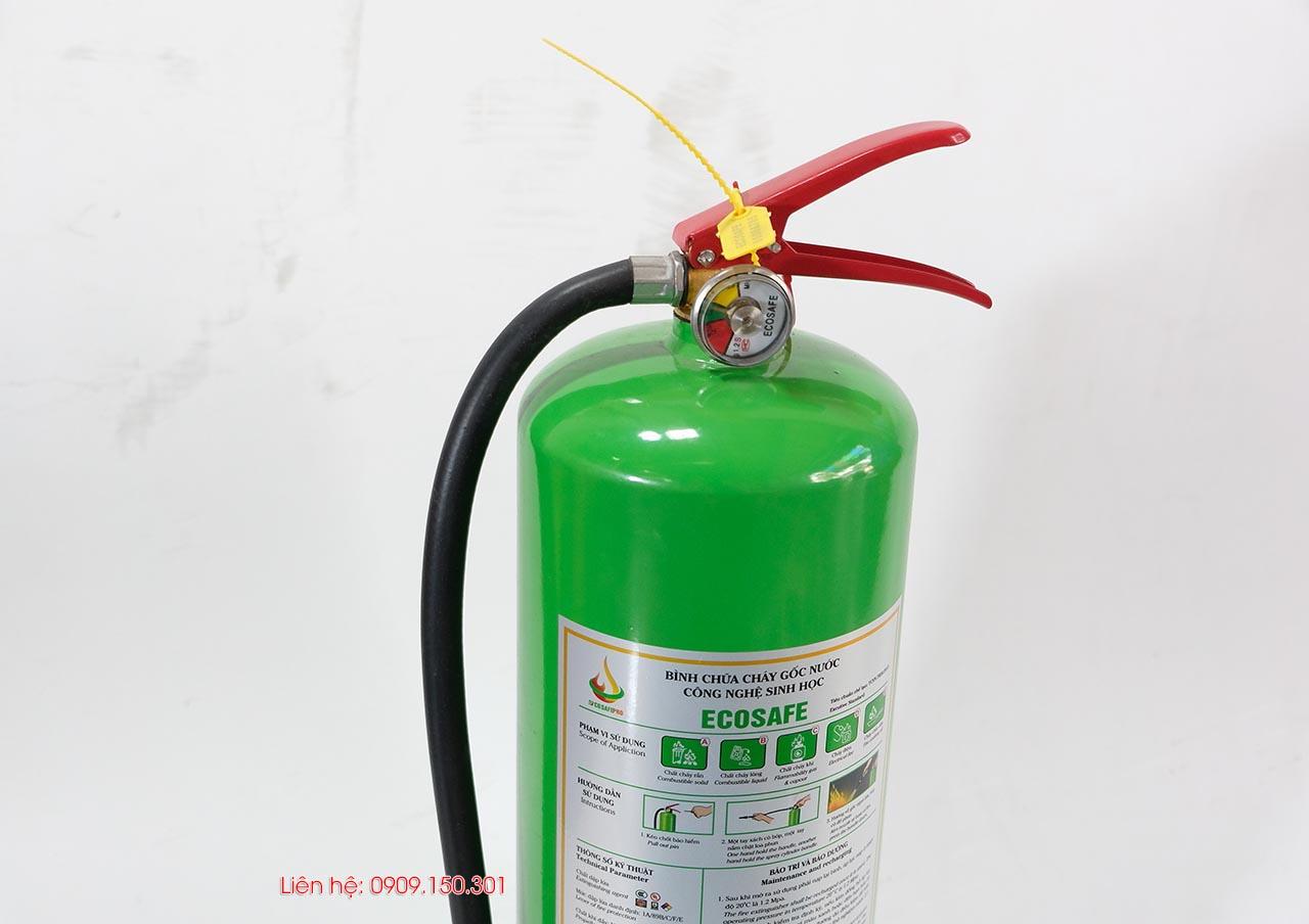 bình chữa cháy gốc nước 6 lít ES6 Ecosafe Việt Nam
