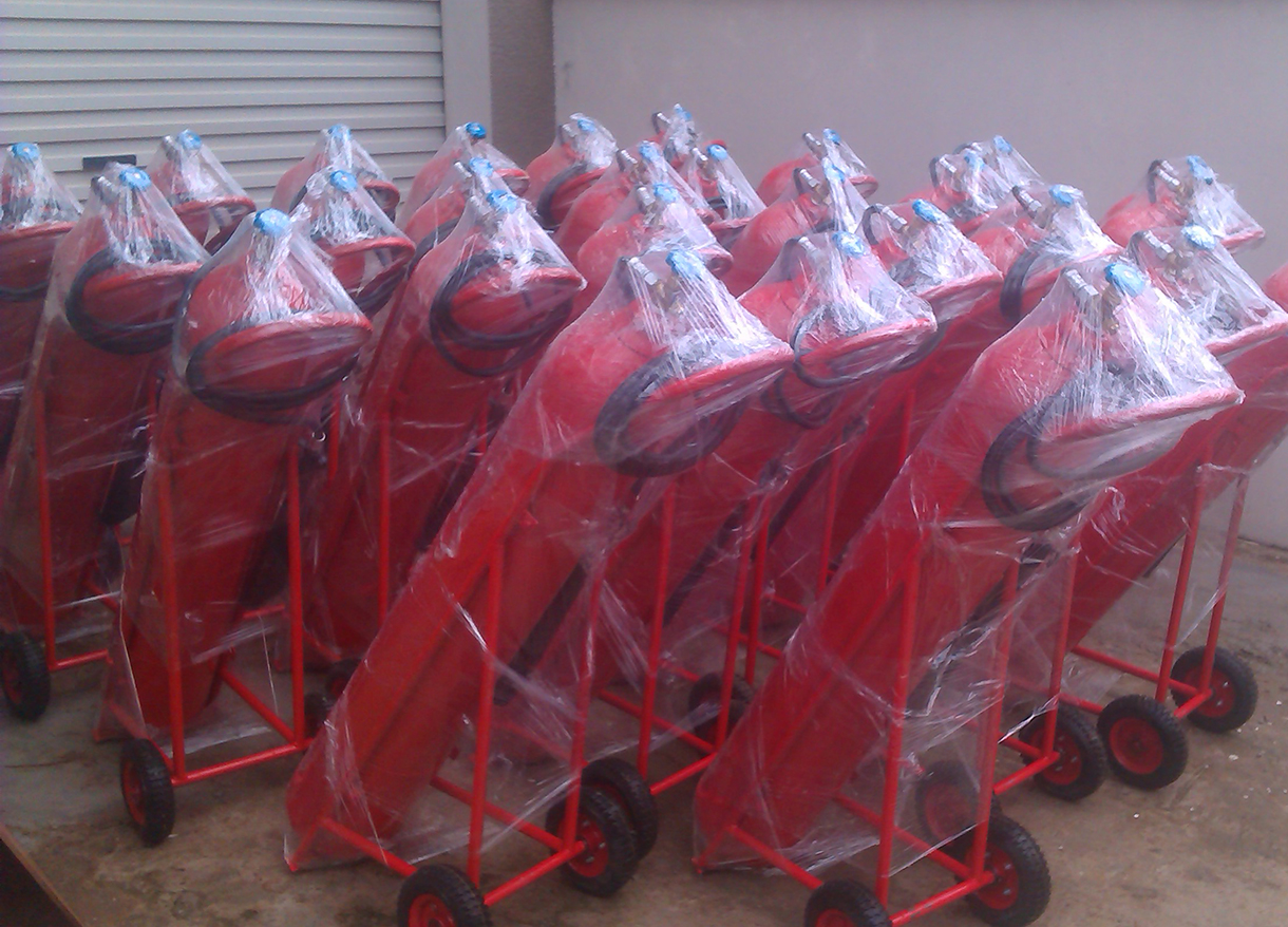 Bình chữa cháy khí CO2 xe đẩy 24kg MT24