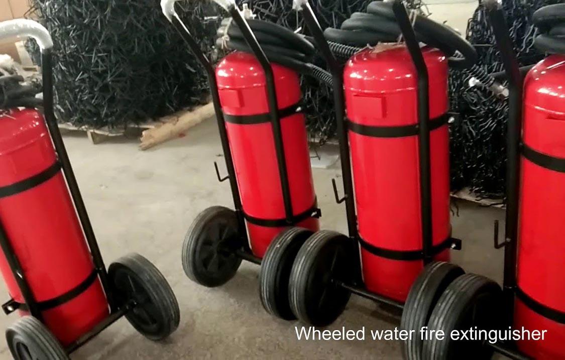 Bình chữa cháy xe đẩy bọt foam