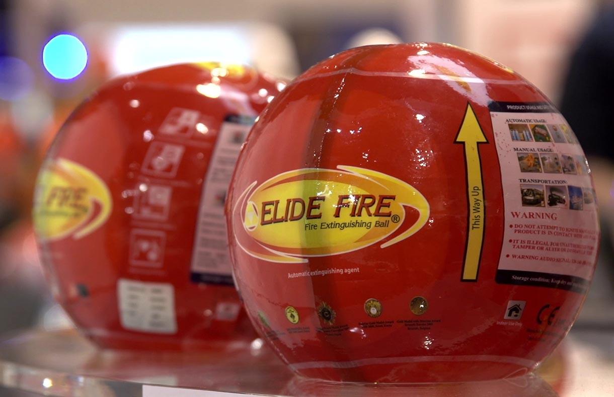 bóng chữa cháy Elide Fire Ball cao cấp
