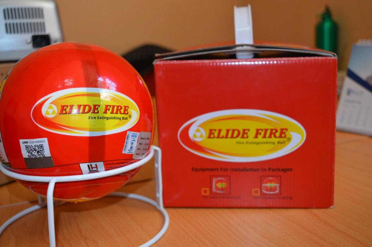 bóng chữa cháy Thái Lan Elide Fire Ball cao cấp