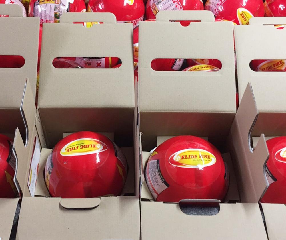 bóng chữa cháy tự động Elide Fire Ball cao cấp