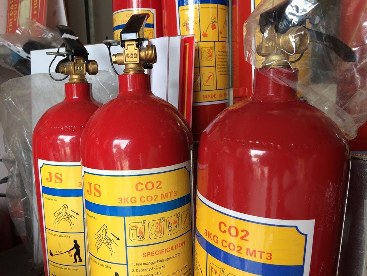 Các nguyên tắc an toàn khi sử dụng bình co2 chữa cháy