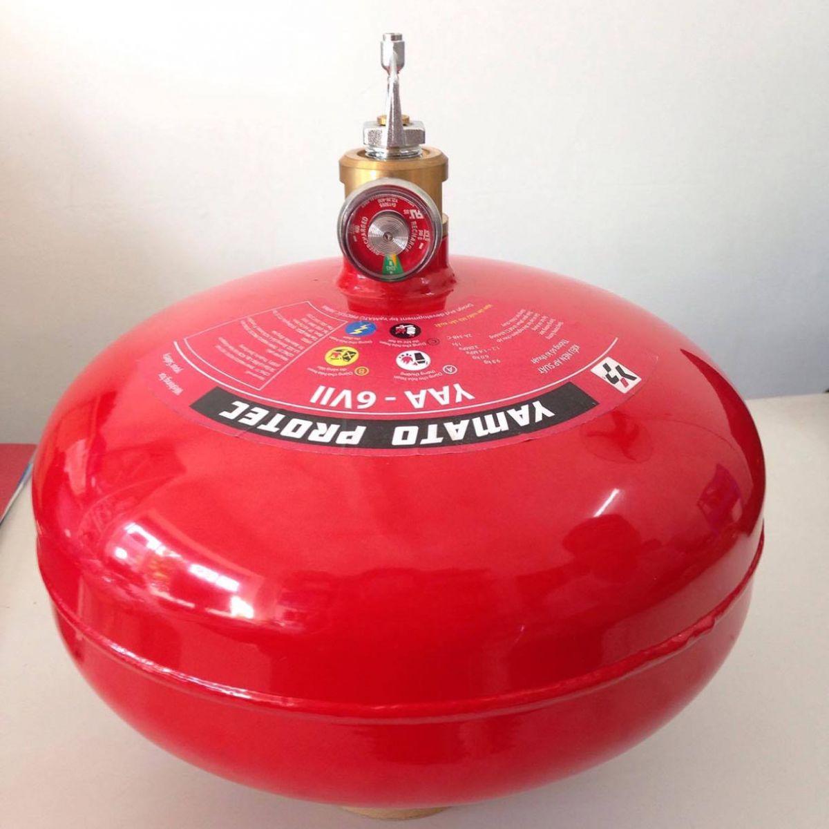 Quả cầu chữa cháy tự động Yamato Nhật Bản 6kg