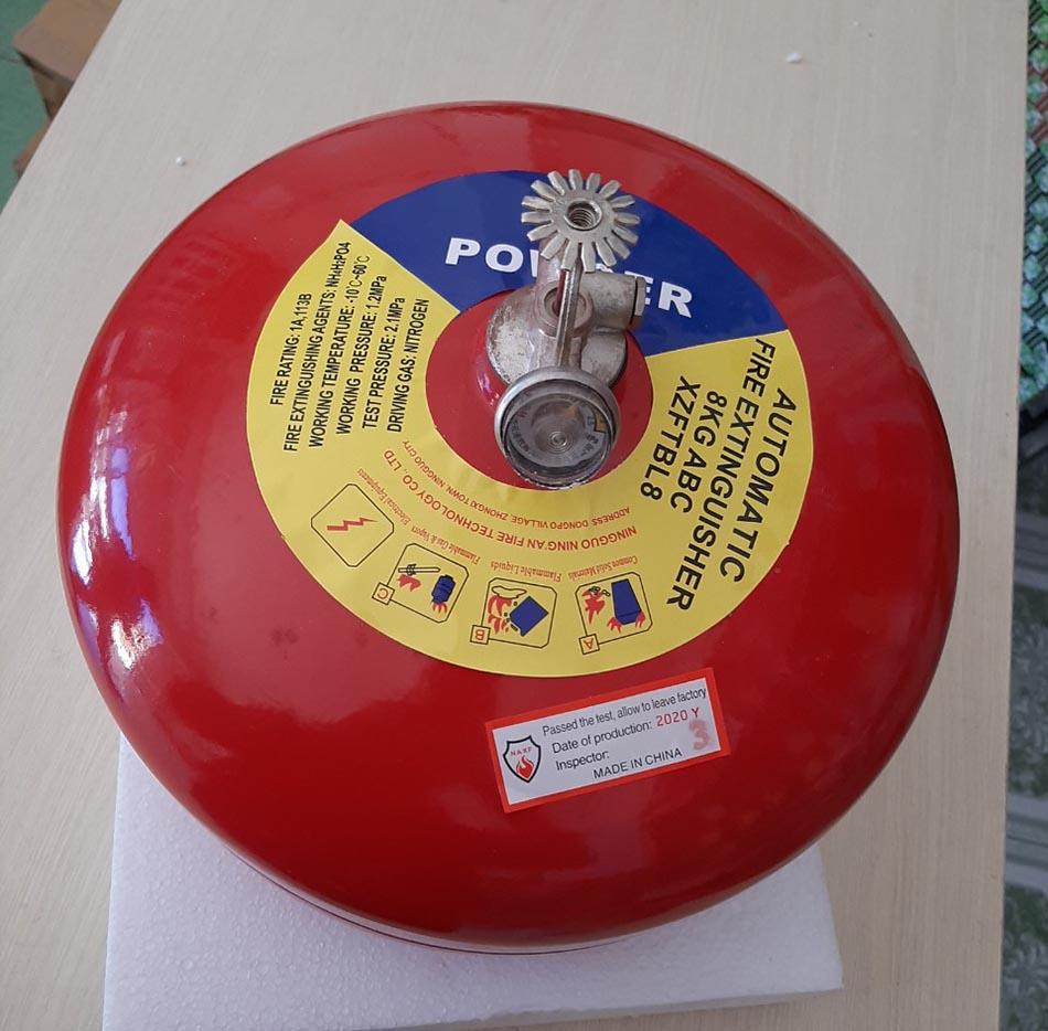 Quả cầu chữa cháy bột ABC XZFTBL8 8kg tự động