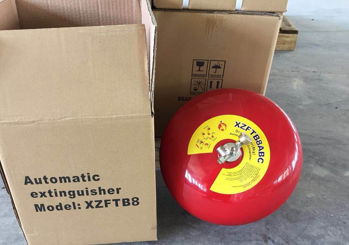 Quả cầu chữa cháy bột ABC XZFTBL8 8kg
