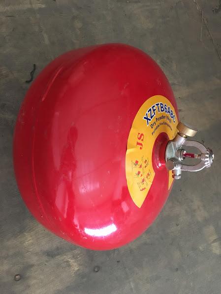 Quả cầu chữa cháy bột BC XZFTB6 6kg tự động