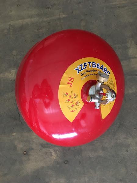 Quả cầu chữa cháy bột BC XZFTB6 6kg