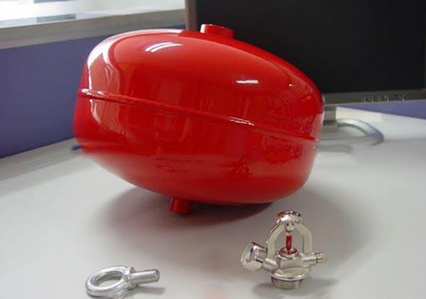 Quả cầu chữa cháy bột BC XZFTB6 8kg tự động