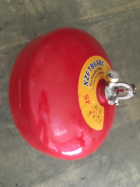 Quả cầu chữa cháy bột BC XZFTB6 6kg tự động dạng treo
