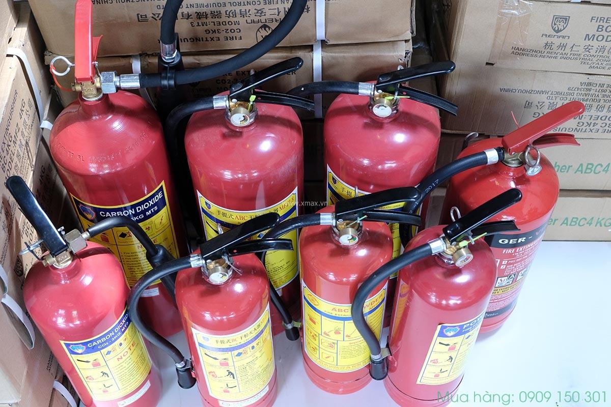 So sánh hiệu quả dập lửa của các mẫu bình chữa cháy phổ biến
