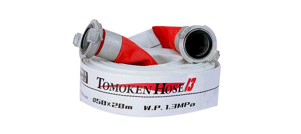 Vòi chữa cháy Tomoken Nhật Bản D50 13Bar 20m Ø50mm Japan