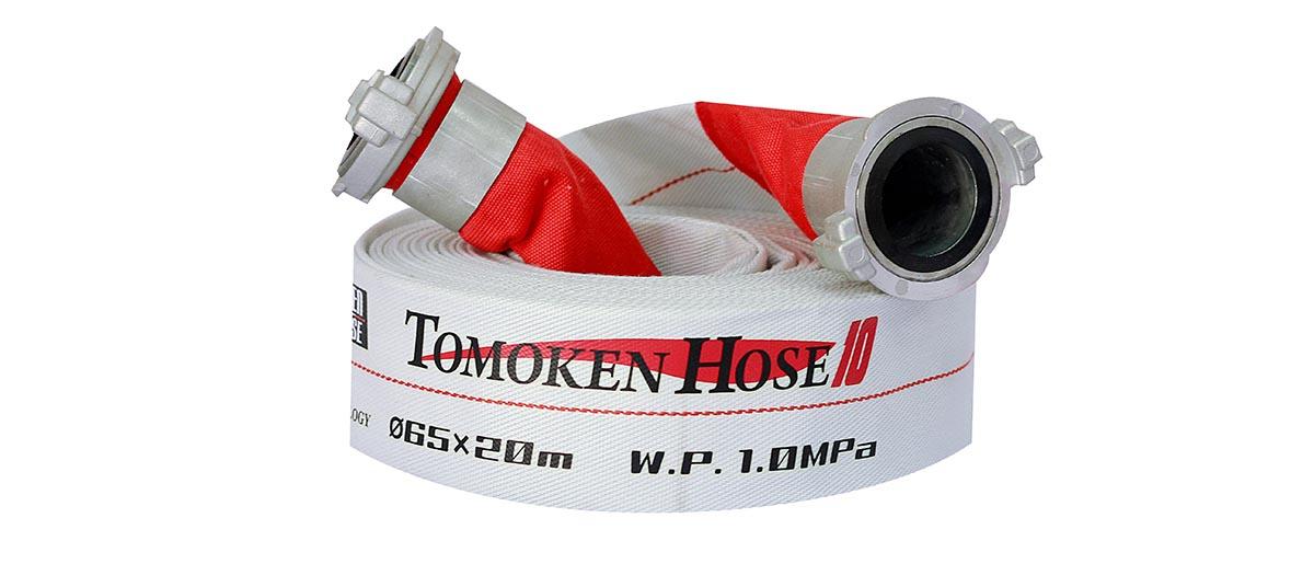 Vòi chữa cháy Tomoken Nhật Bản D65 10Bar 20m Ø65mm Japan