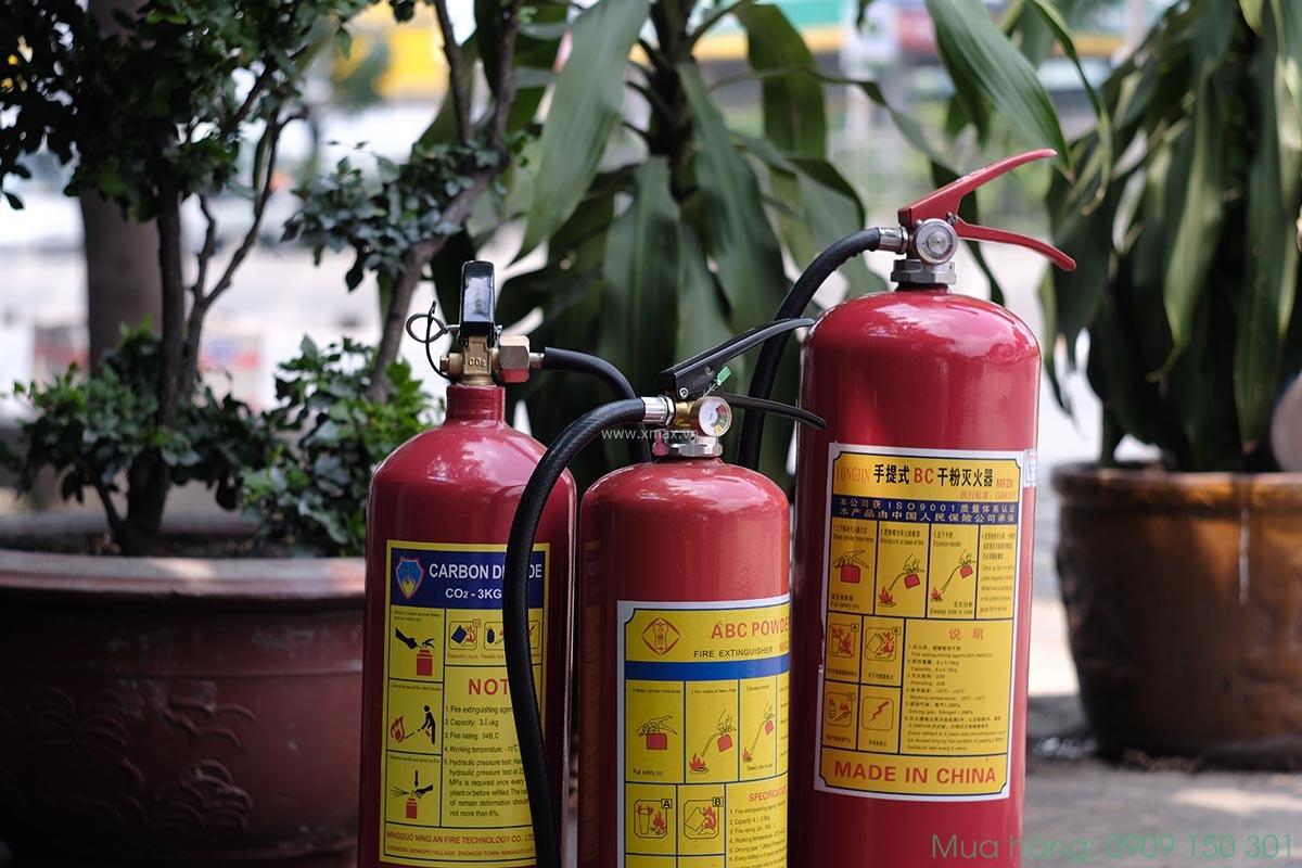 Bình chữa cháy tiếng Trung là gì? 36 từ vựng tiếng Hoa ngành PCCC