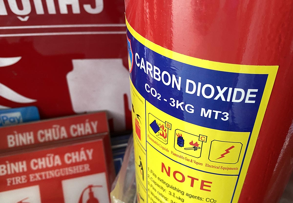 Bình chữa cháy mt3 là bình chữa cháy loại gì? trọng lượng bao nhiêu kg?