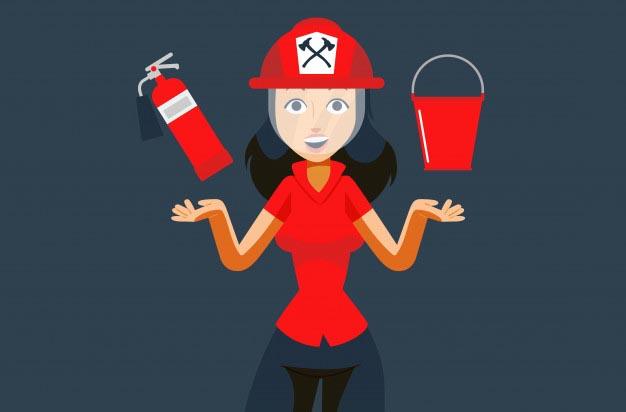 Khi quần áo trên người bị bắt cháy chúng ta nên áp dụng biện pháp nào?