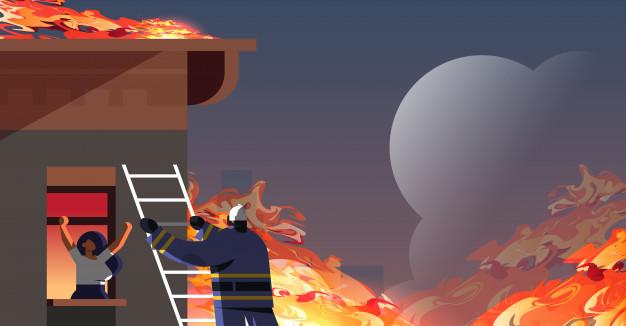 Làm gì khi có sự cố cháy nổ ở chung cư cao tầng