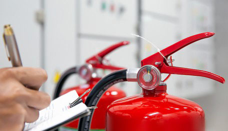 Thời gian kiểm tra định kỳ bình chữa cháy là bao lâu?