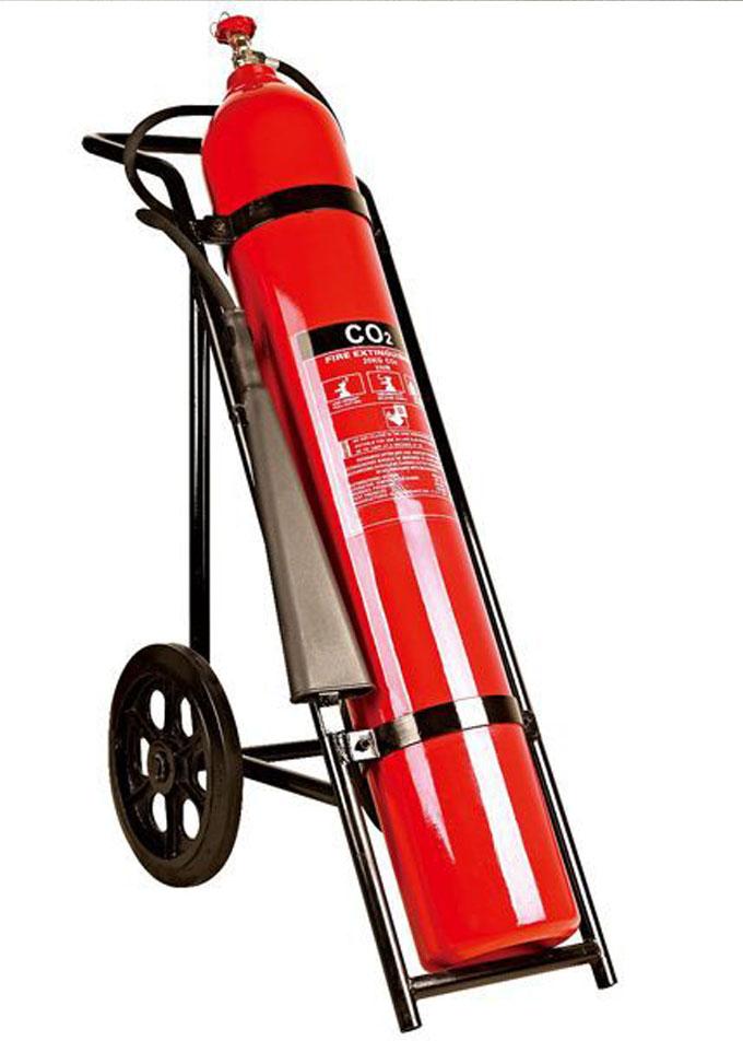 Bình chữa cháy khí CO2 MT24 24kg có xe đẩy loại lớn