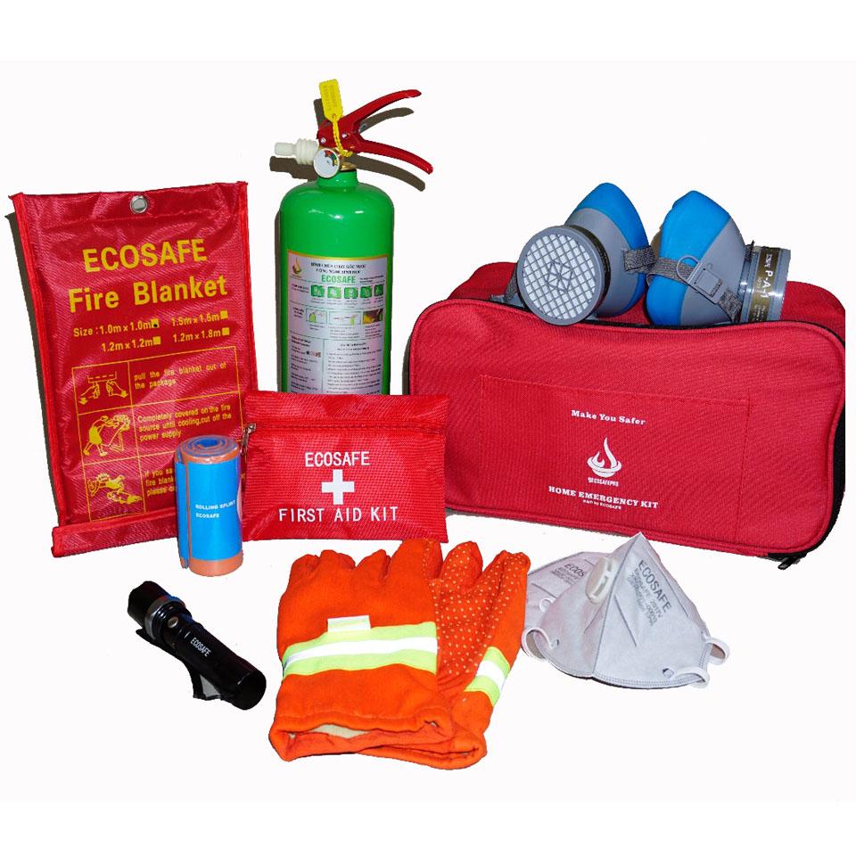 Bộ dụng cụ cứu hộ PCCC nhà ở gia đình Home Kit Ecosafe Pro