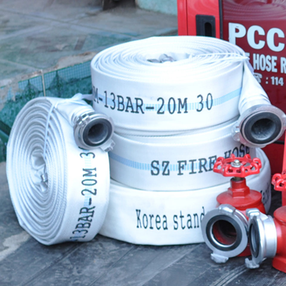 Cuộn vòi chữa cháy Trung Quốc D65 13Bar Ø65mm 20m China Fire Hose
